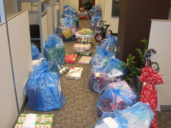 Group collecting Christmas gifts for former foster children