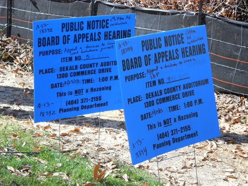 Judge halts Druid Hills subdivision