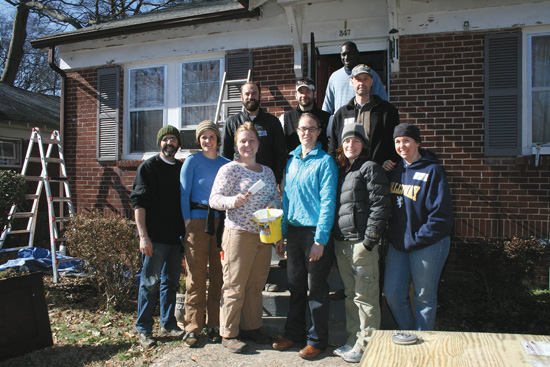 For the 11th year in a row, thousands of volunteers will participate in the annual Martin Luther King Jr. Service Project, which provides home maintenance and repair free of charge to low-income Decatur senior citizen homeowners.