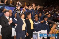 WOMENS BASKETBALL: SOUTHWEST DEKALB CAPTURES FOURTH STATE TITLE. Photo by Travis Hudgons