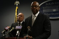 DeKalb County Police Chief Cedric Alexander and Lt. Mark Lavigne discuss the case at an April 3 news conference.