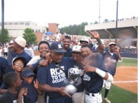 Head baseball coach Marvin Pruitt and the Redan Baseball team won its first state championship after sweeping Marist in the Class AAAA state finals. See more photos on page 22A. Photo by Carla Parker