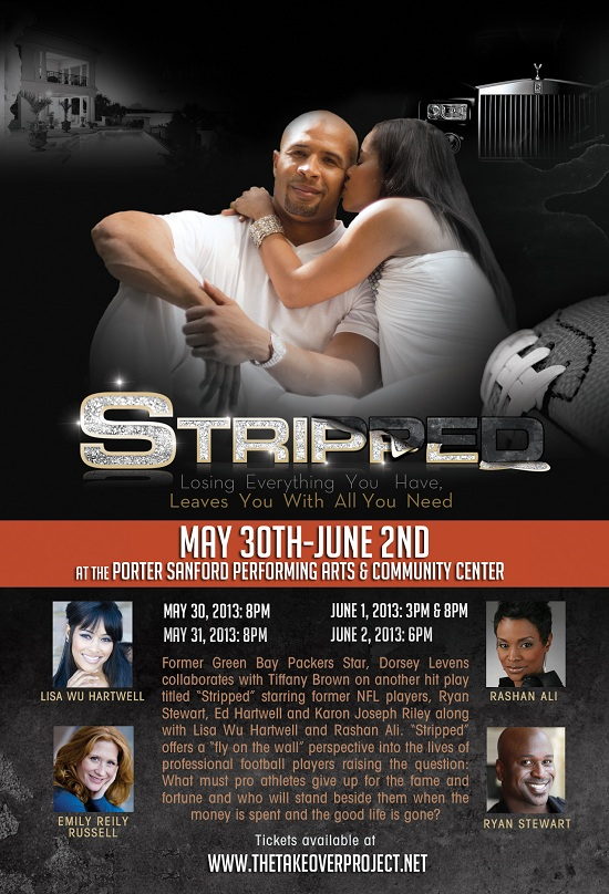 Stag play €œStripped coming to Porter Sanford III Center