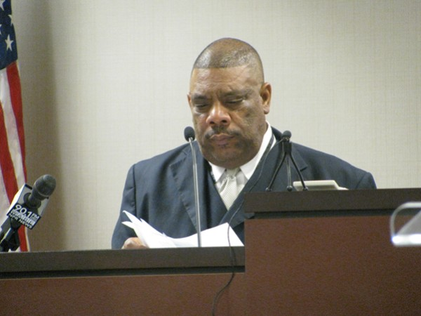 "Jesse ""Jay"" Cunningham appeared before a judge to ask for his DeKalb County school board back. Photo by Andrew Cauthen"