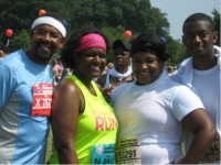 Peachtree road race pic