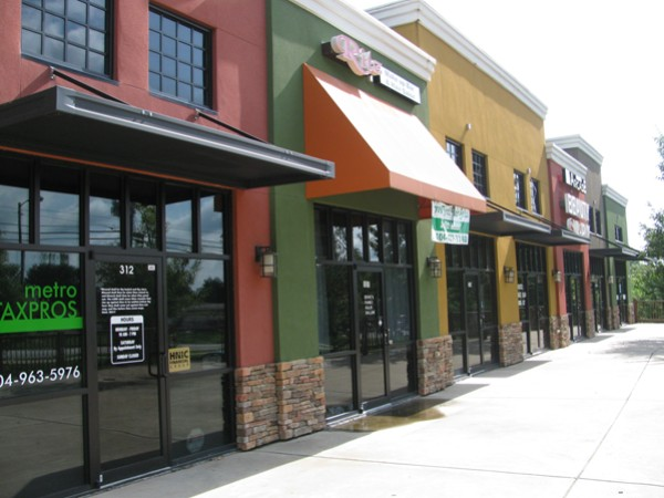 Small businesses such as those at Candler Point business plaza in south DeKalb County account for approximately 90 percent of the businesses registered in the county.