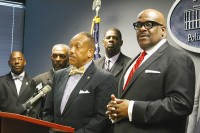 DeKalb County clergymen are partnering with Police Chief Cedric Alexander and the DeKalb County School District to enhance after-school programs for at-risk youth. Photo by Daniel Beauregard