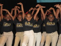 The Dream G.E.A.R.L.S. step team from Browns Mill Elementary School was one of several DeKalb schools that participated in Red Ribbon Week celebration Oct. 18. Photos by Andrew Cauthen