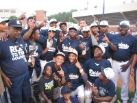 Redan High School baseball team won the Class AAAA state title in May, the program's first state title. Head Coach Marvin Pruitt (far left) and assistant coach Chris Hardnett were named Class AAAA Co-Coaches of the Year