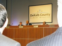 The DeKalb County Board of Education rejects the Druid Hills Charter Cluster, which would have been the first of its type in the state. Photo by Andrew Cauthen