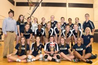 St. Pius volleyball team