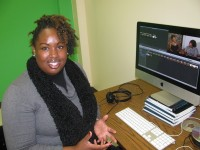 Despite limited resources, Lee helps students get television experience as they work on the program.