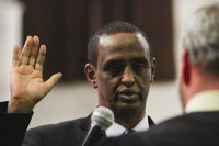 Newly elected Clarkston City Councilman Ahmed Hassan is the city's first Somali-born elected official. Photo by Travis Hudgons