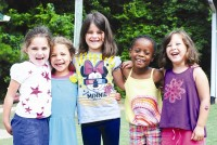 Smiling faces are a sign of the good time had at the Marcus Jewish Community Center Summer Day Camp. Photo provided