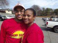 Rayshawn and Christie Lathan. Photo by Gale Horton Gay