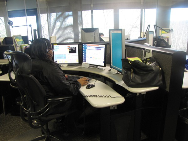 The 911 service in DeKalb County answers more than 1.2 million calls a year.