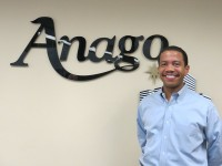 """Brian McBroom says Anago's use of chemical-free cleaning solutions makes it a good fit for DeKalb County, which aspires to be """"the greenest urban county in America."""""""