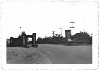 This photo shows Carl's Corner early in Avondale Estate's existence, with the accompanying post on the north side of U.S. 278. Photo provided