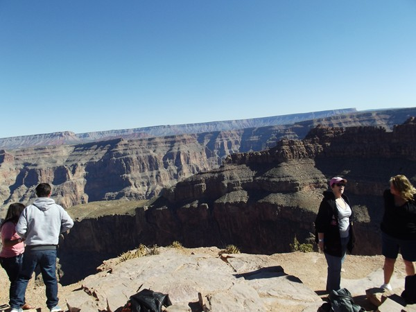 The west rim of the Grand Canyon attracts 80 percent of visitors to this natural wonder. Photos by Gale Horton Gay