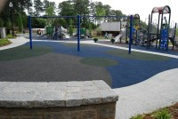 The playground at Georgetown Park will continue to be a draw for families.