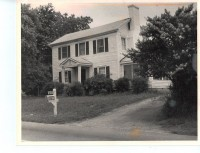 A photo taken before 1984 shows how a pre-Civil War house looked when it was a private residence. Photo provided