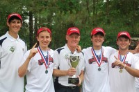 Marist boys' and girls' tennis teams swept the Class AAAA tennis championship.