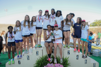 The Marist girls' track and field team won its second consecutive Class AAAA state title.