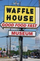 The Waffle House Museum, located in Avondale Estates, is a throwback to the chain's first restaurant as it was in 1955. Photos by Lauren Ramsdell