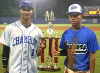 Chamblee's Jared McKay (West) and Stephenson's Jalen Robinson (East) took home MVP honors in the DeKalb County Senior All-Star Classic.