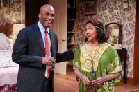 Kenny Leon and Phylicia Rashad as George and Doris carry on a decades-long affair in Same Time Next Year. Photos by Josh Lamkin