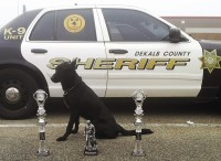 Rocky was an award-winning K-9 officer. Photos provided