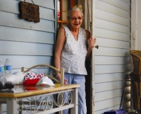 Carol Hill, a Clarkston resident, had her home repaired by Habitat for Humanity. Photo by Lauren Ramsdell