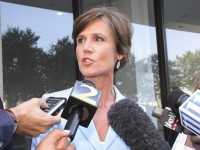"U.S. Attorney Sally Quillian Yates calls commissioner's crimes ""serious."" Photo by Andrew Cauthen"