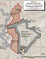 Avondale annexation map