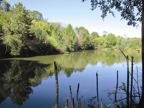 Local activists want to preserve the Old Atlanta Prison Farm site for greenspace. Located entirely in southwest DeKalb County, the property contains two large lakes. Photos by Andrew Cauthen