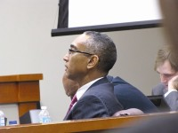 Indicted DeKalb CEO Burrell Ellis awaits a verdict. Photo by Andrew Cauthen