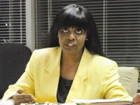 Viola Davis, who filed ethics complaints against county employees, said the ethics board should be able to determine that the employees violated the ethics code. Photo by Andrew Cauthen