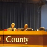 Currently there are two empty seats on the Board of Commissioners. One was vacated when Lee May was appointed to the interim CEO position and the other is vacant until a Dec. 2 runoff. File photo