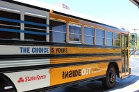 Choice Bus at Tucker High School