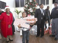 More than a dozen children received Christmas gifts from the DeKalb County Sheriff's Office. Photos by Andrew Cauthen