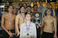 Chamblee boys won the DeKalb County swimming title and set four DeKalb Swimming and Diving Championships records.
