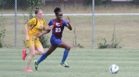 Presbyterian College sophomore and Southwest DeKalb graduate Kristen Peagler finished the 2014 season with two goals and one assist.