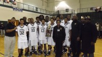 Lithonia boys' basketball team won the Region 6-AAAA title.