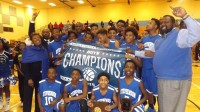 Stephenson swept the middle school championship with both boys and girls winning titles. Photos by Carla Parker