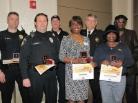 Several Decatur employees were recognized  for their service to the city in 2014.