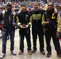 Lithonia had three wrestlers to place in the Class AAAA state wrestling meet. Photo provided