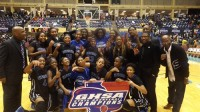 Stephenson girls' basketball team won the Class AAAAA state title after beating Mays 65-56. Photos by Carla Parker