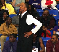 Miller Grove basketball coach Sharman White is a finalist for the Atlanta Tip-off Club's 2015 Naismith High School Boys' Coach of the Year Award. Photo by Travis Hudgons
