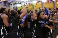 Stephenson Lady Jaguars defeat Forest Park in the Final Four to advance to the state playoffs, their first appearance since the 2008 championship win. Photos by Travis Hudgons