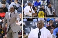 Tucker coach James Hartry reacts to his team's play in the loss to Wheeler in the Class AAAAAA Final 4.  Photos by Travis Hudgons